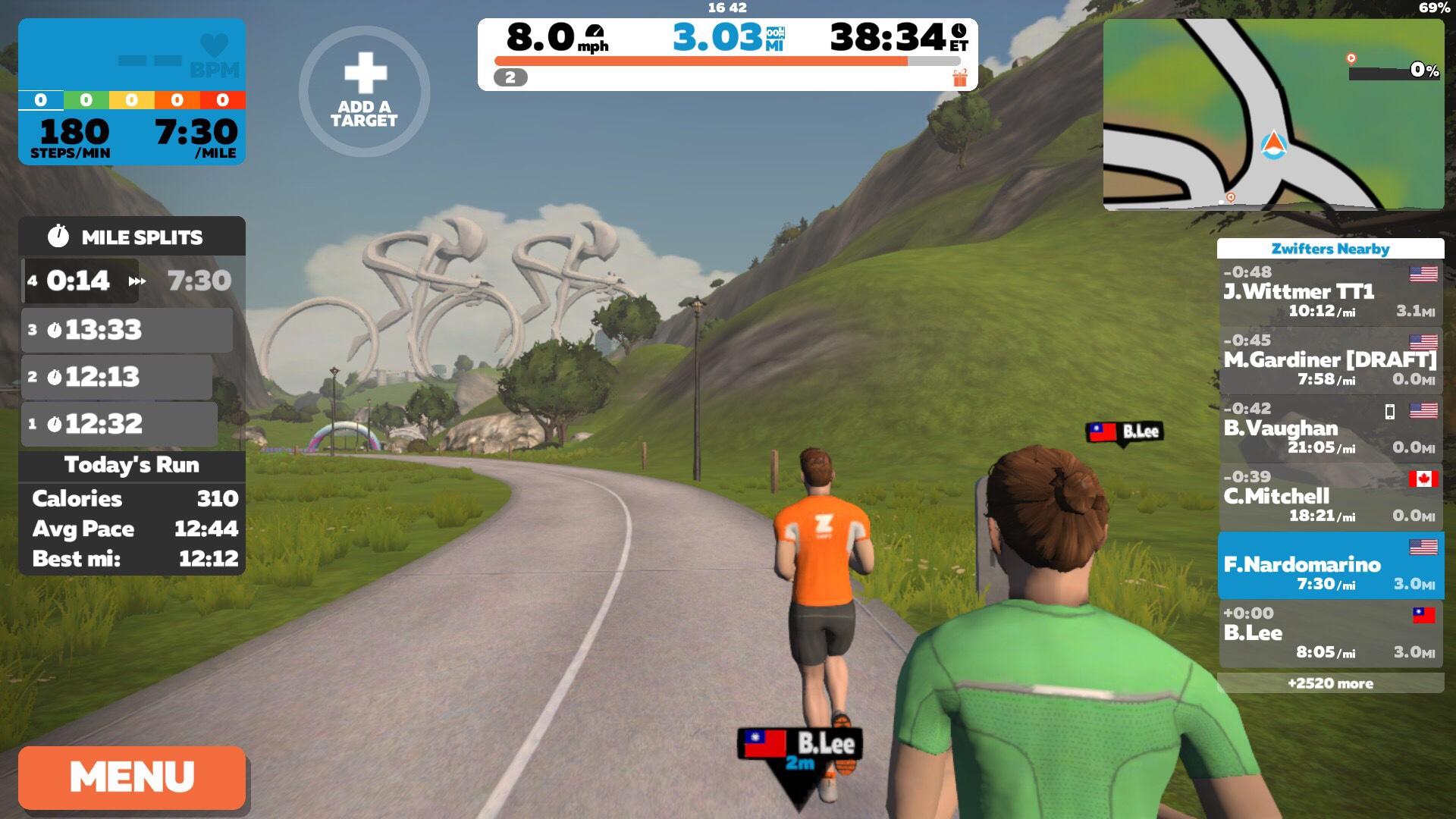 Zwift Running App – franklyrunning